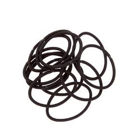 Luxe Hair Ties - Black, 12 Pack,