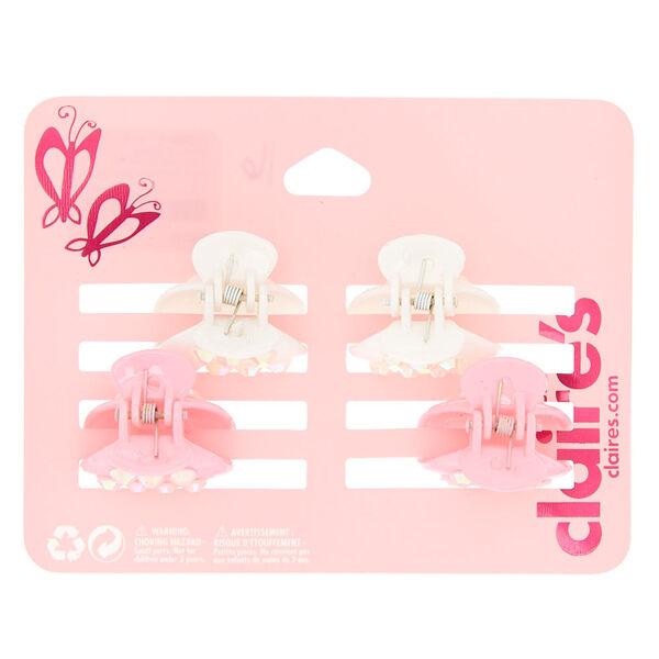 Claire's - club crystal hair claws - 1