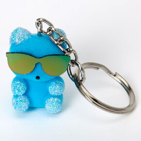 Bears Wearing Sunglasses Best Friends Keychains - 3 Pack,