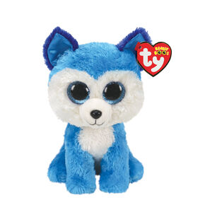 Ty Beanie Boo Small Prince the Husky Plush Toy,