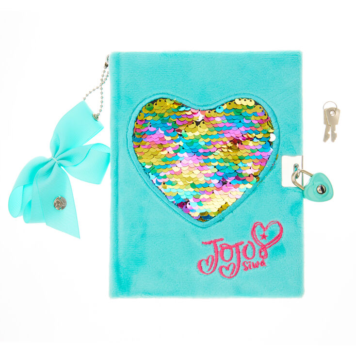 JoJo Siwa trade  Reversible Sequin Heart Notebook ... ac2d0895a