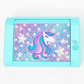 Unicorn Bling Mechanical Lip Gloss Set - Mint,