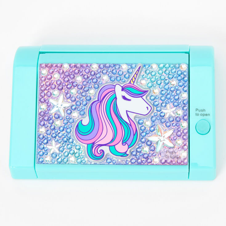 Unicorn Bling Mechanical Lip Gloss Set - Mint,