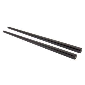Baguettes à cheveux rigides noires - Lot de 2,