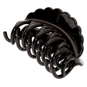 Small Double Tooth Hair Claw - Black,