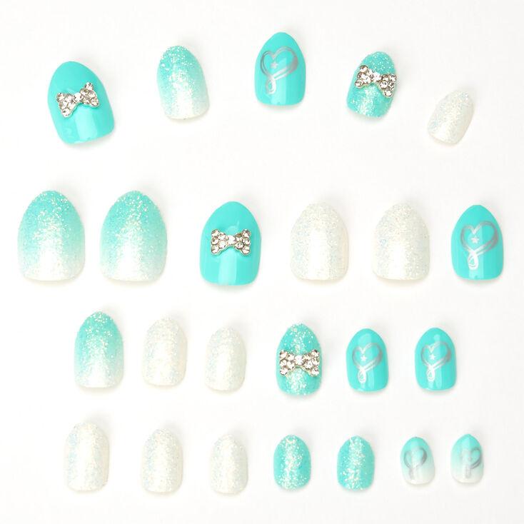 Jojo Siwa™ Stiletto Press On Faux Nail Set - Mint,