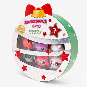 Squeezamals Micro Holiday Series  - 7 Pack,
