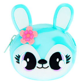 Jade the Bunny Jelly Coin Purse - Mint,