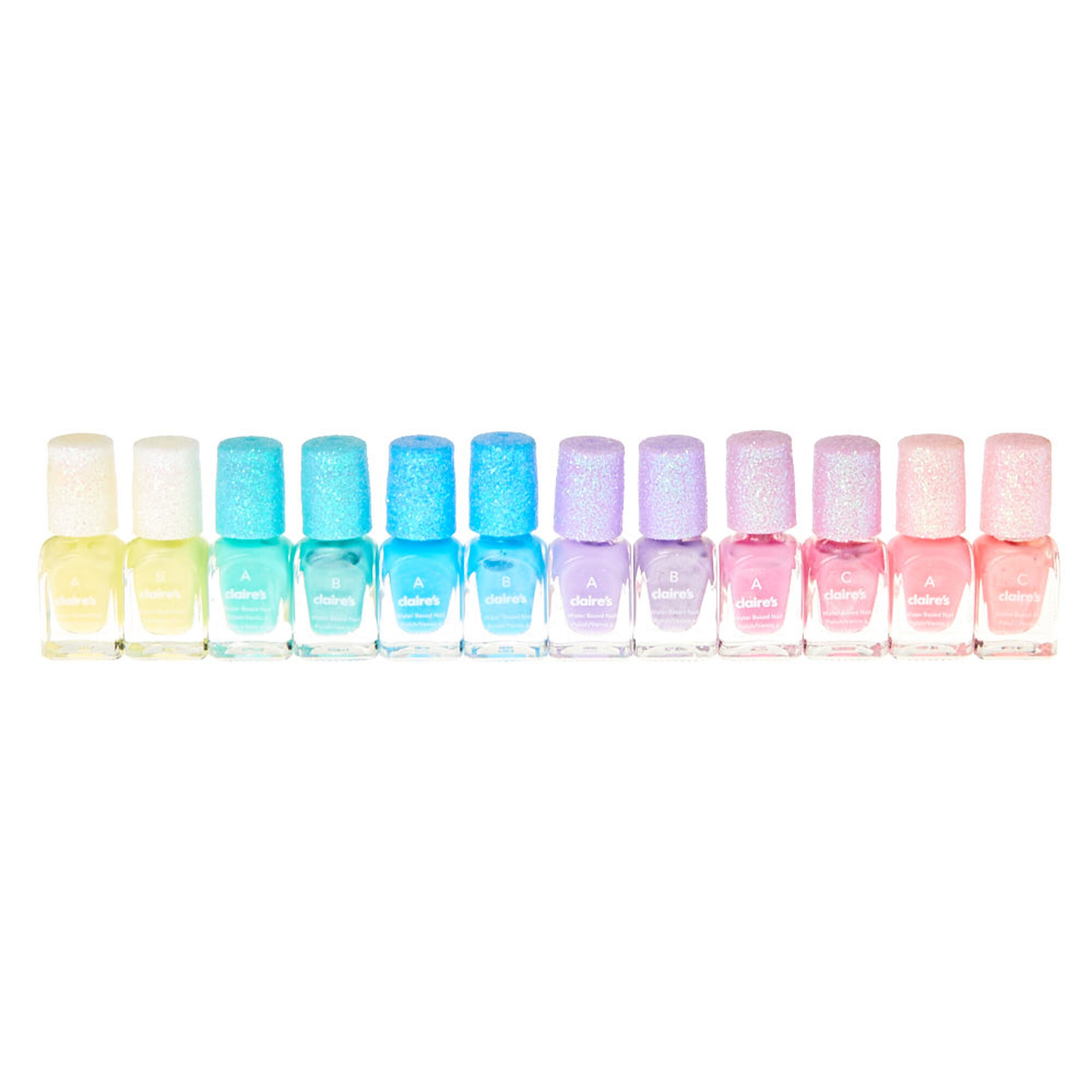 Kids 12-Pack Pastel Nail Polish Set