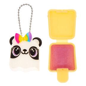 Pucker Pops Rainbow Panda Bow Lip Gloss - Grape,