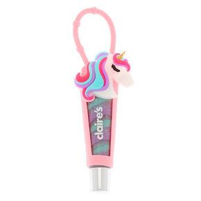 Miss Glitter the Unicorn Lip Gloss Tube - Marshmallow,