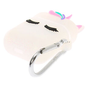 Glitter Unicorn Silicone Earbud Case Cover - Compatible With Apple AirPods,