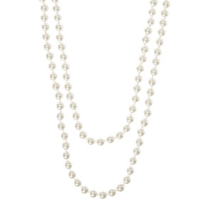 Pearl Long Necklace - Ivory,