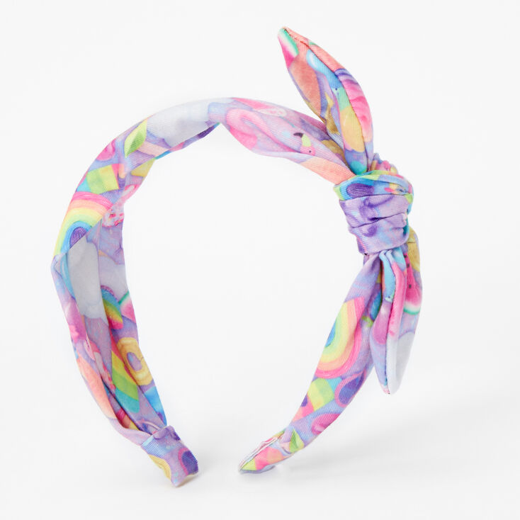 Summer Fruit Knotted Bow Headband,
