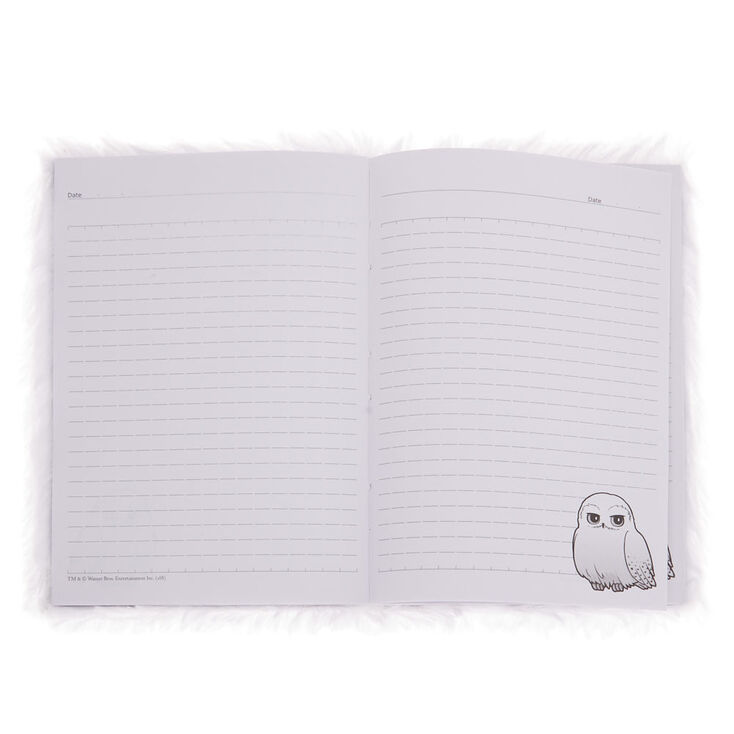 Harry Potter™ Hedwig Soft A5 Notebook with Mini Notebook – White,