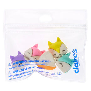 Trixie the Fox Rainbow Erasers - 5 Pack,