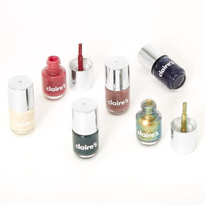 Safari Mini Nail Polish Set - 6 Pack,