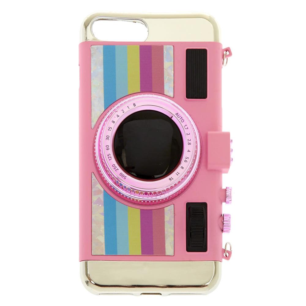 Pink Glitter Unicorn Phone Case Claire's