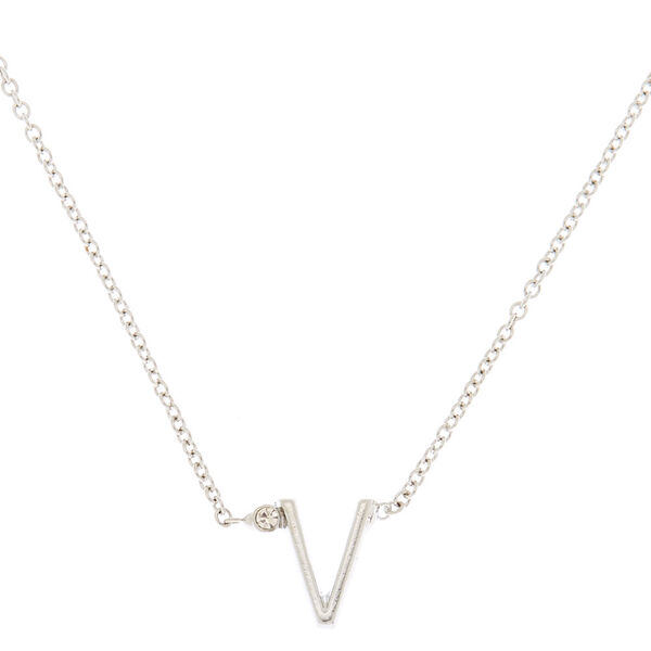 Claire's - initial necklace - 1