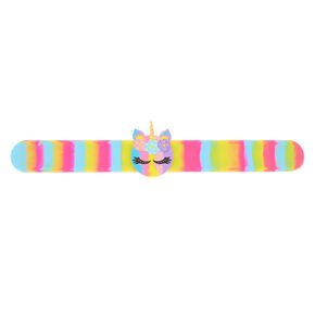 Rainbow Unicorn Slap Bracelet,