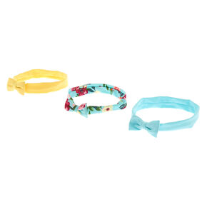 Go to Product: Claire's Club Floral Bow Headwraps - 3 Pack from Claires