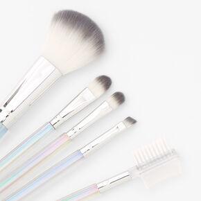 Crystal Rainbow Makeup Brush Set - 5 Pack,