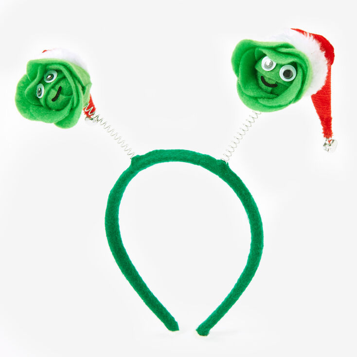 Christmas Brussels Sprouts Deely Bopper Headband,