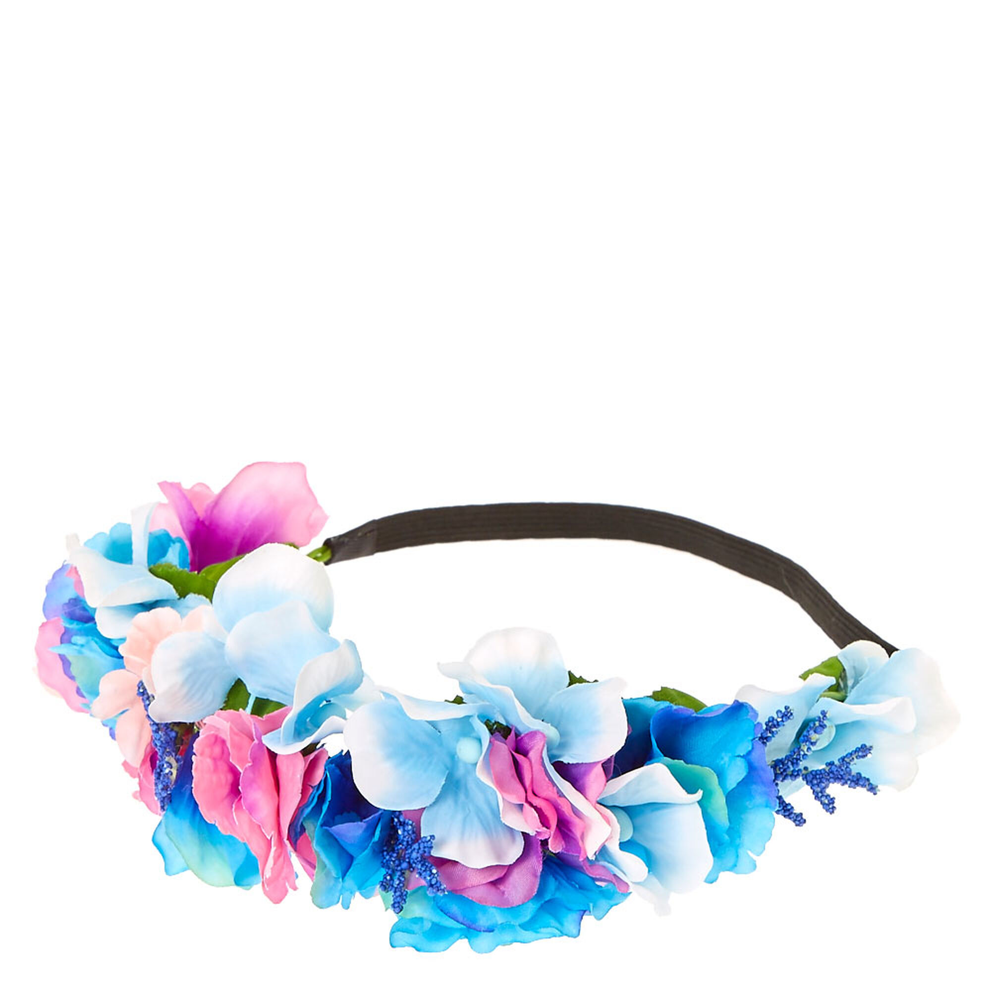 Purple Pink Blue Pastel Flower Crown Claires Us