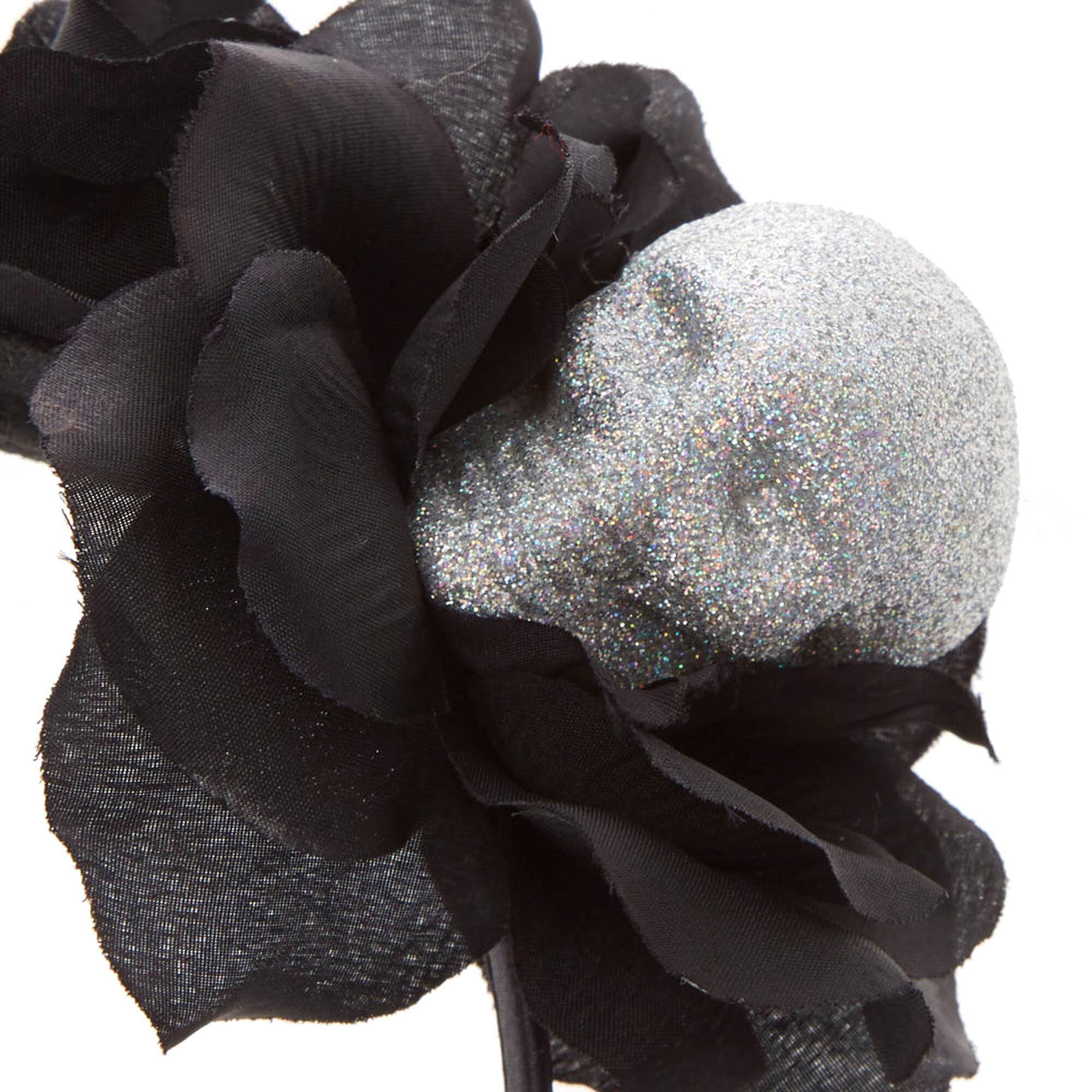 Ab skulls black flower crown headband claires fr ab skulls black flower crown headband izmirmasajfo