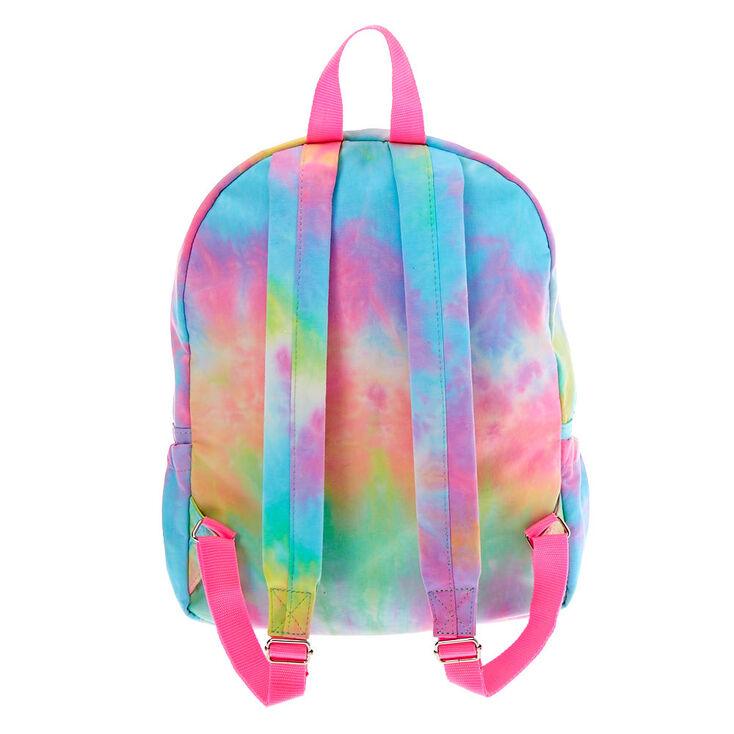 Rainbow Tie Dye Medium Backpack,
