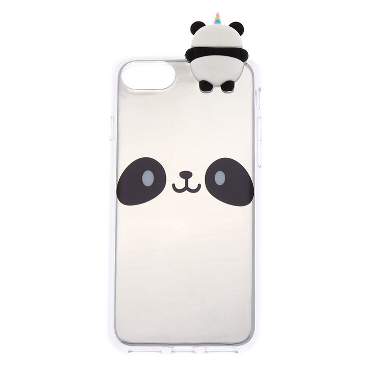 6fe0d00f60e Mirrored Panda Popover Phone Case - Fits iPhone 6/7/8 | Claire's