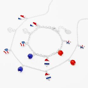 USA Charm Jewelry Set - 2 Pack,