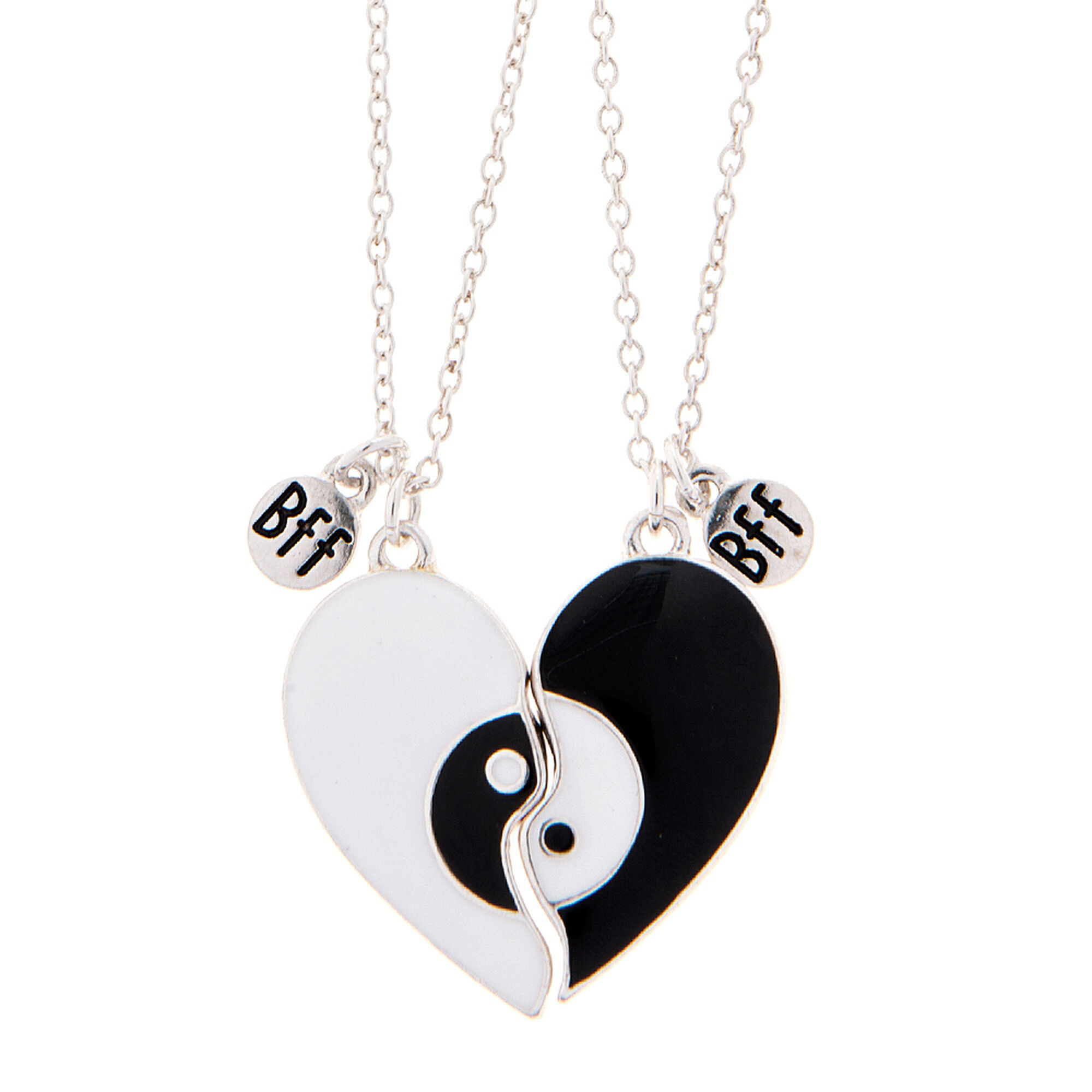 img necklace forget ondazzle hearts love double two heart products granddaughter never i that you