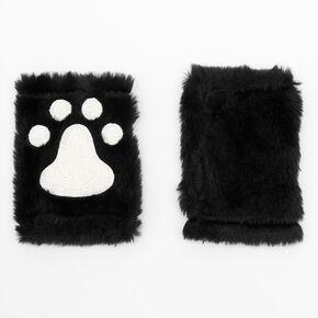 Furry Glow in the Dark Cat Costume Set - Black, 3 Pack,
