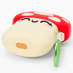 Mushroom Silicone Earbud Case Cover - Compatible with Apple AirPods pro®,