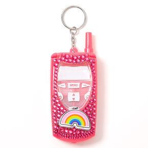 Team Rainbow Flip Phone Bling Lip Gloss Set - Pink,