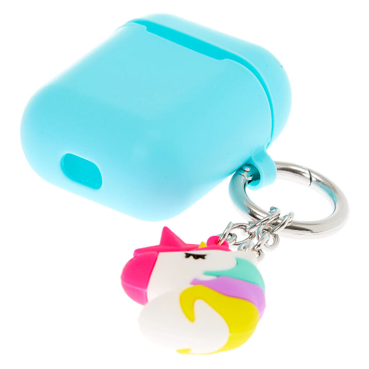 Unicorn Silicone Earbud Case Cover - Compatible With Apple AirPods,