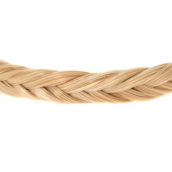 Claire's - faux hair fishtail braid headwrap - 2
