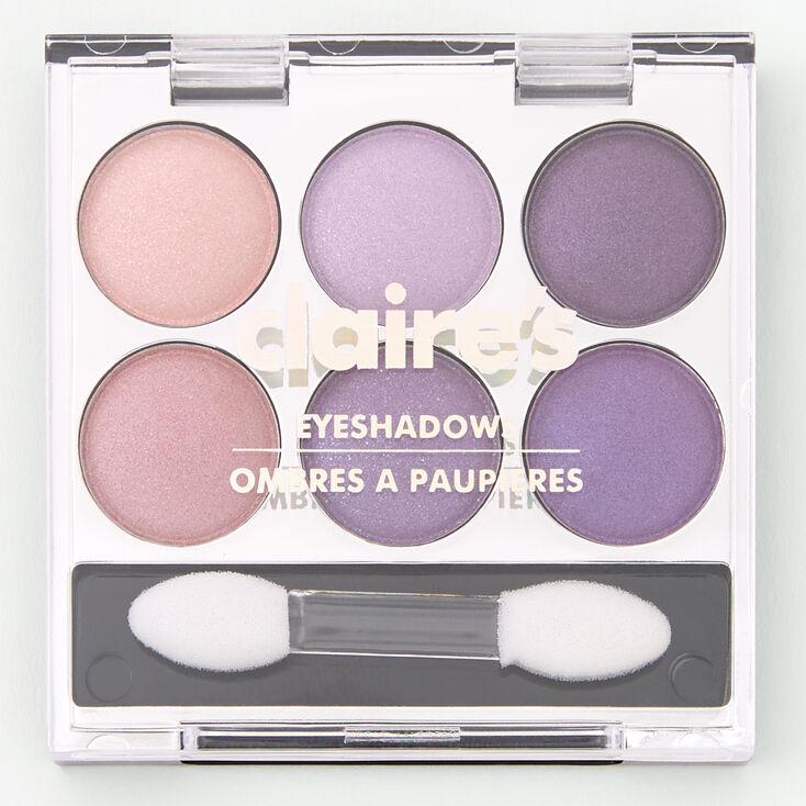 Lilac Shimmer Mini Eyeshadow Palette,