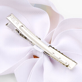 JoJo Siwa™ Pride Hair Bow - White,