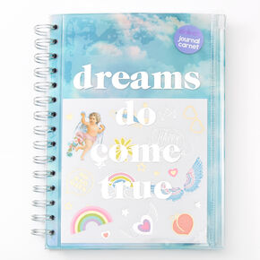 Dreams Do Come True Notebook - Blue,