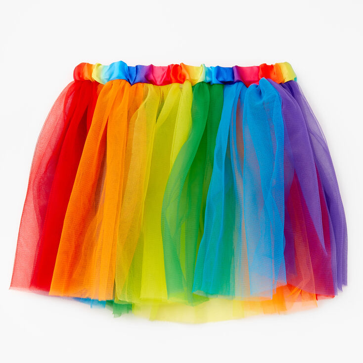 Rainbow Tulle Tutu,