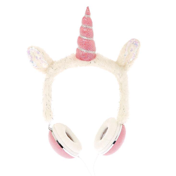 Furry Unicorn Headphones,