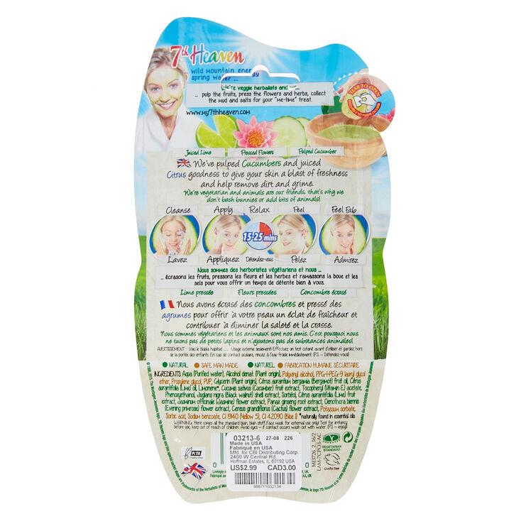 7th Heaven Cucumber Peel-Off Mask,