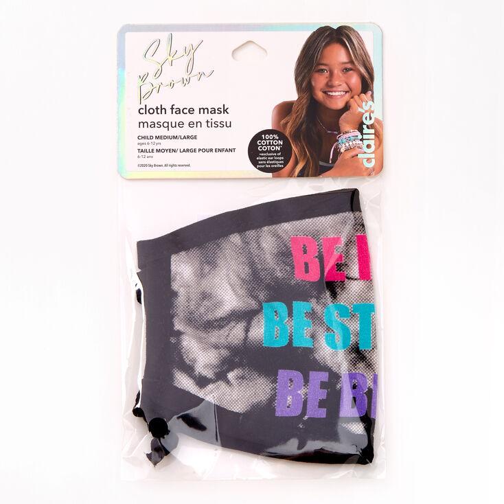 Sky Brown™ Be Kind Cotton Face Mask - Adjustable,