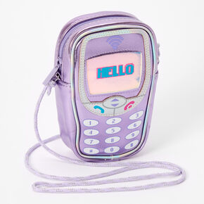 Cellphone Crossbody Phone Carrier - Purple,