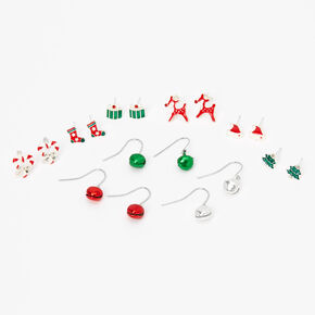 Holiday Fun Mixed Earrings - 9 Pack,