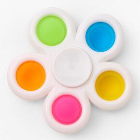 Pop Poppers Flower Fidget Toy - White,
