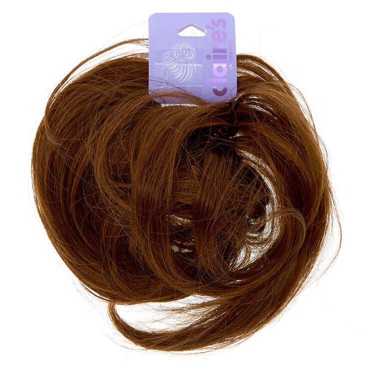 Faux Hair Bun - Brunette | Claire's US