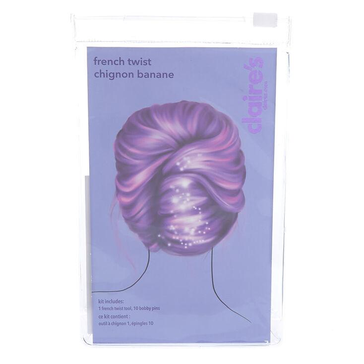 Kit d'accessoires cheveux chignon banane,